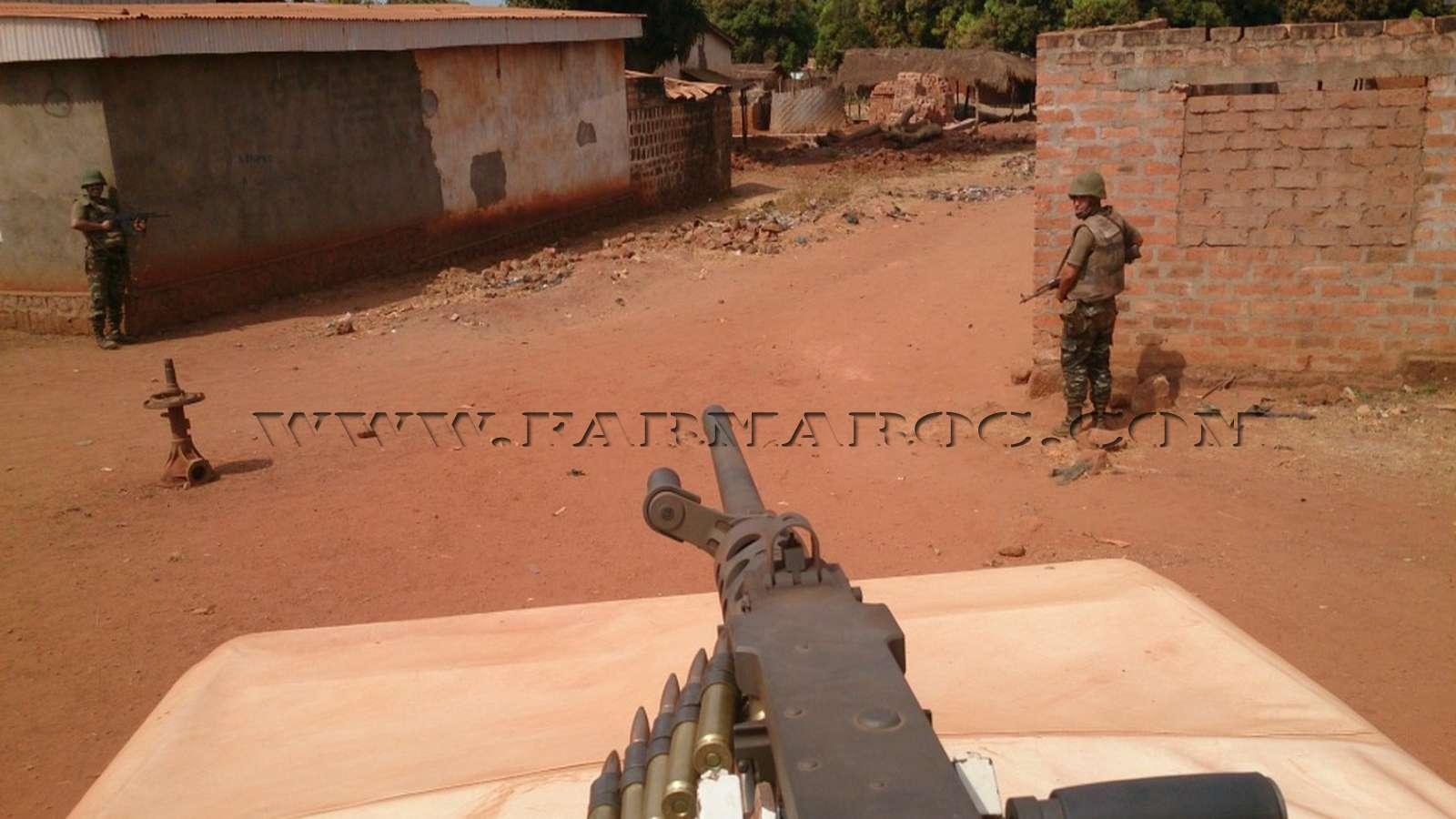 Maintien de la paix dans le monde - Les FAR en République Centrafricaine - RCA (MINUSCA) 14_00010