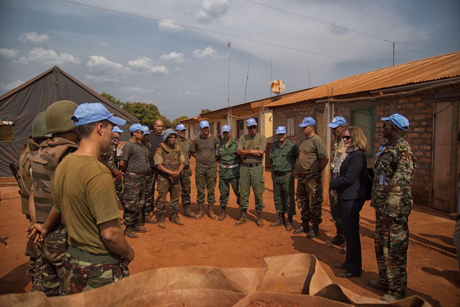 Maintien de la paix dans le monde - Les FAR en République Centrafricaine - RCA (MINUSCA) 16332010