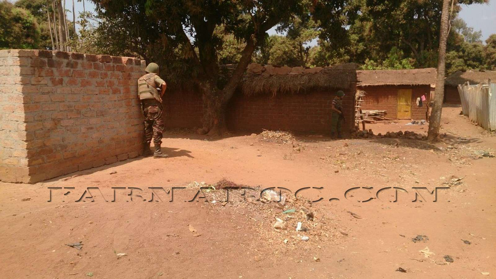 Maintien de la paix dans le monde - Les FAR en République Centrafricaine - RCA (MINUSCA) 210
