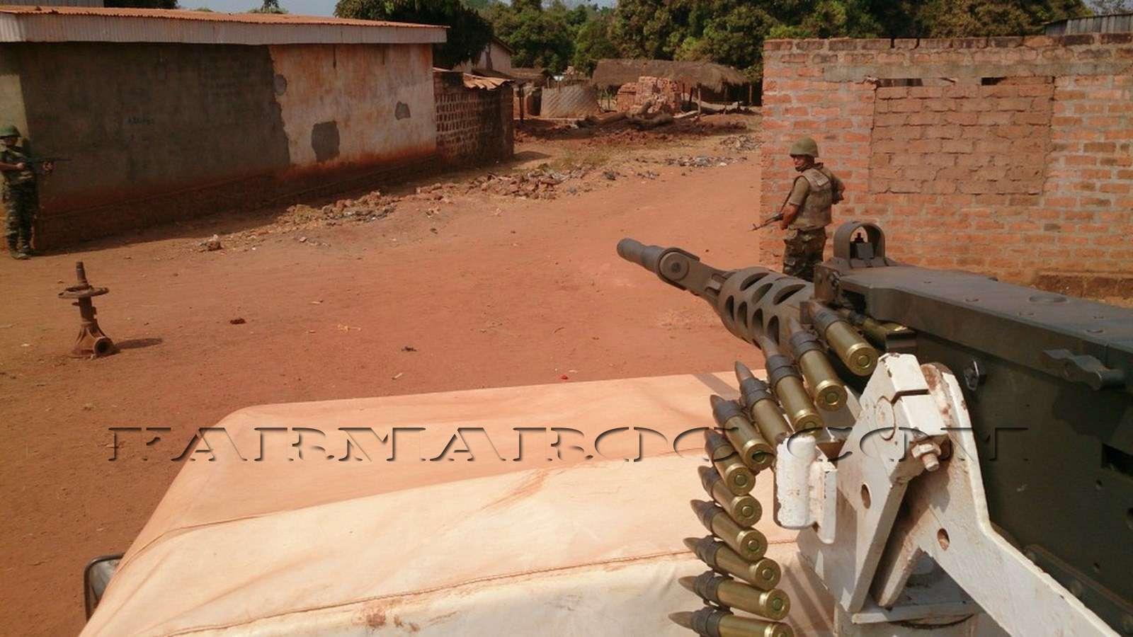 Maintien de la paix dans le monde - Les FAR en République Centrafricaine - RCA (MINUSCA) 310
