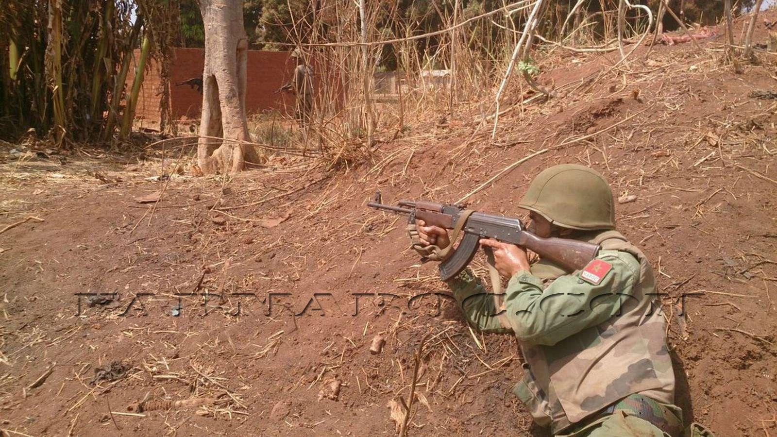 Maintien de la paix dans le monde - Les FAR en République Centrafricaine - RCA (MINUSCA) 410