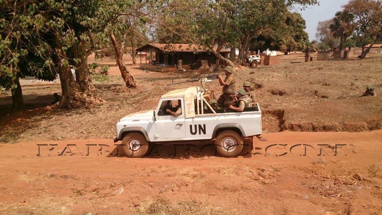 Maintien de la paix dans le monde - Les FAR en République Centrafricaine - RCA (MINUSCA) 510