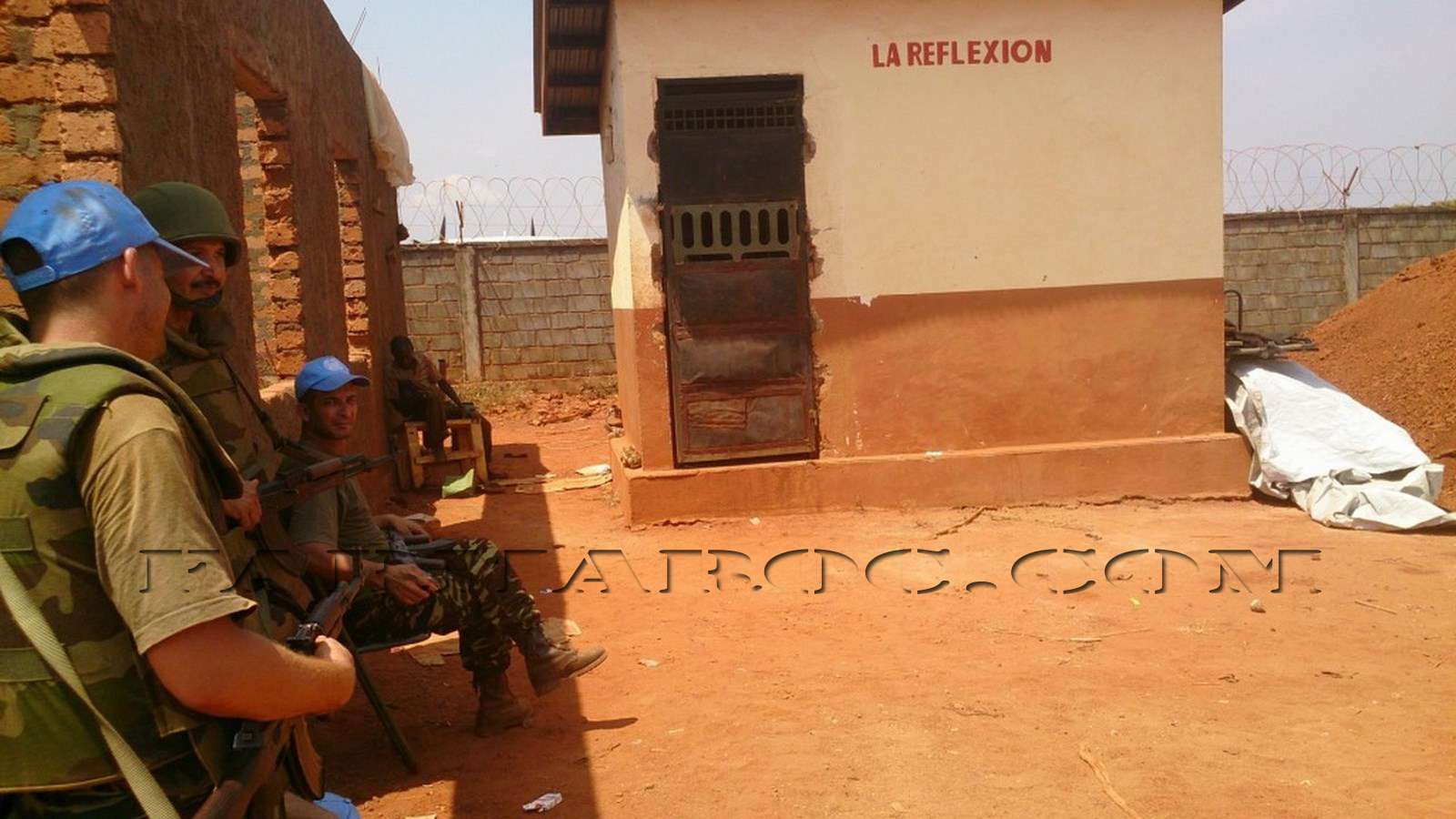 Maintien de la paix dans le monde - Les FAR en République Centrafricaine - RCA (MINUSCA) 610