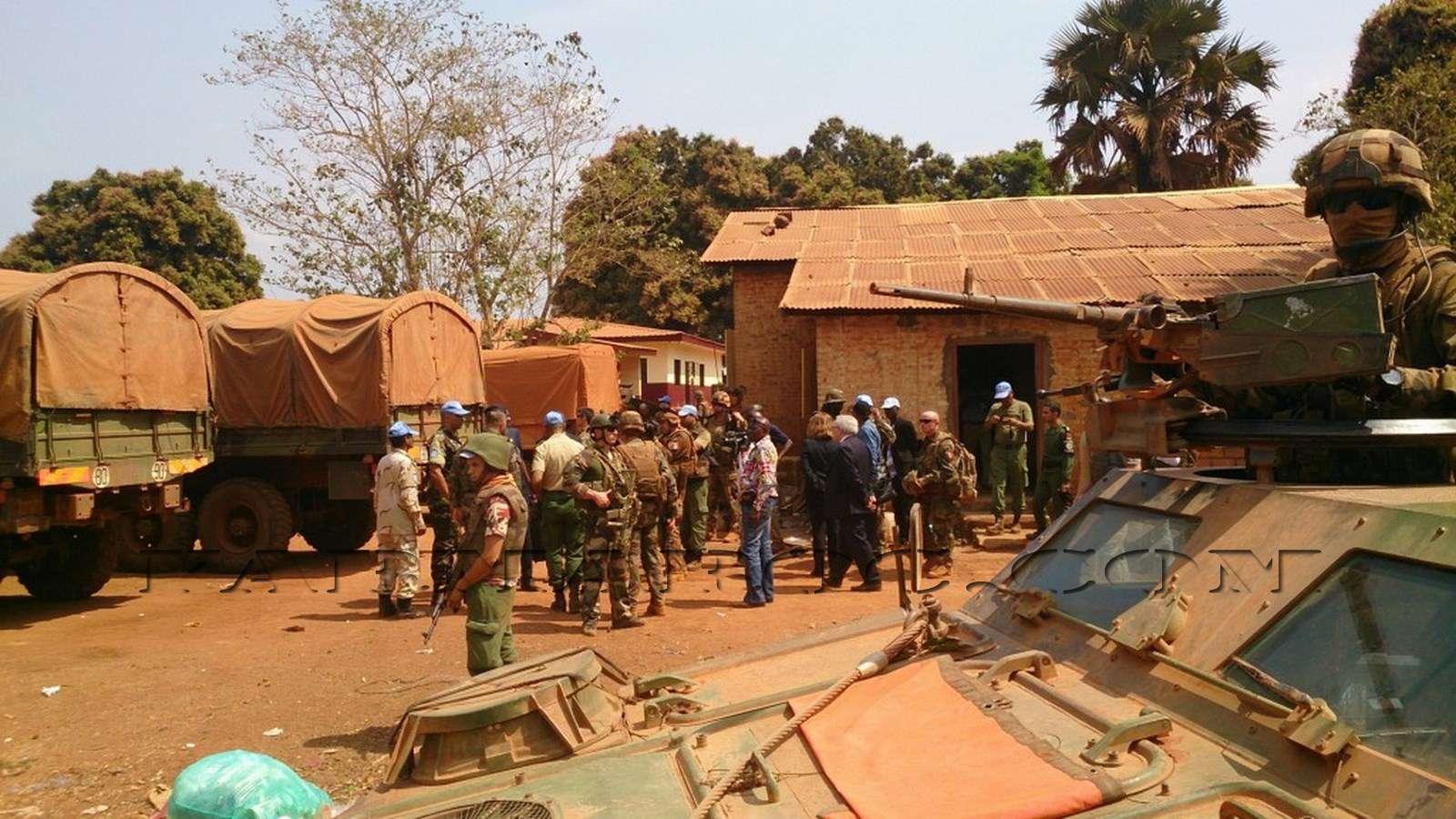 Maintien de la paix dans le monde - Les FAR en République Centrafricaine - RCA (MINUSCA) 710