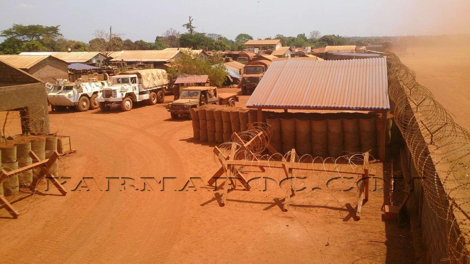 Maintien de la paix dans le monde - Les FAR en République Centrafricaine - RCA (MINUSCA) 810