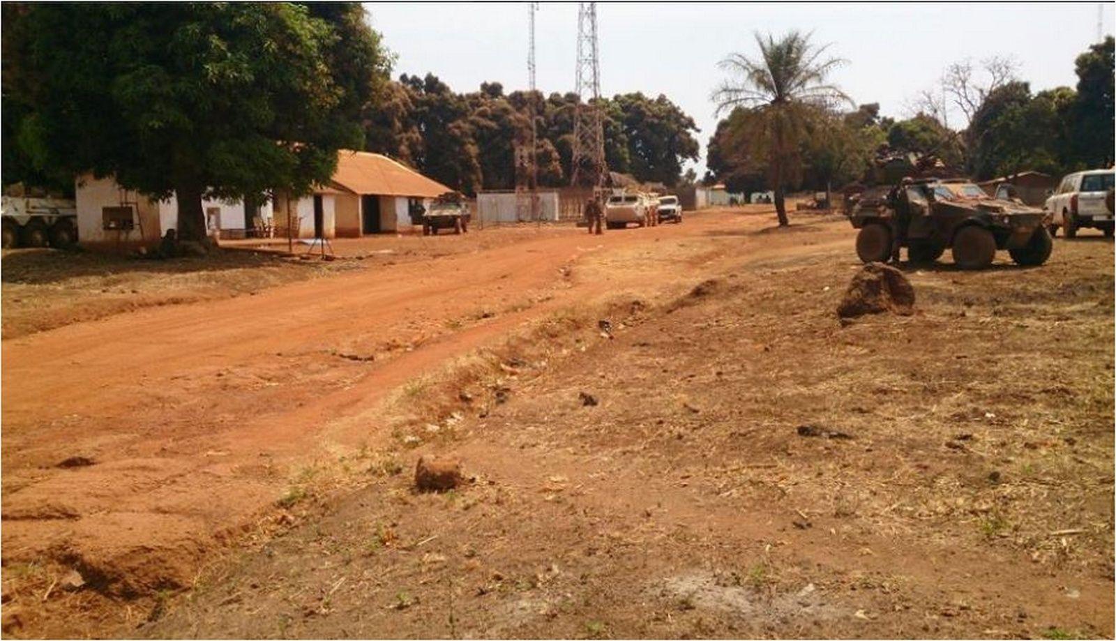 Maintien de la paix dans le monde - Les FAR en République Centrafricaine - RCA (MINUSCA) Sans_t20