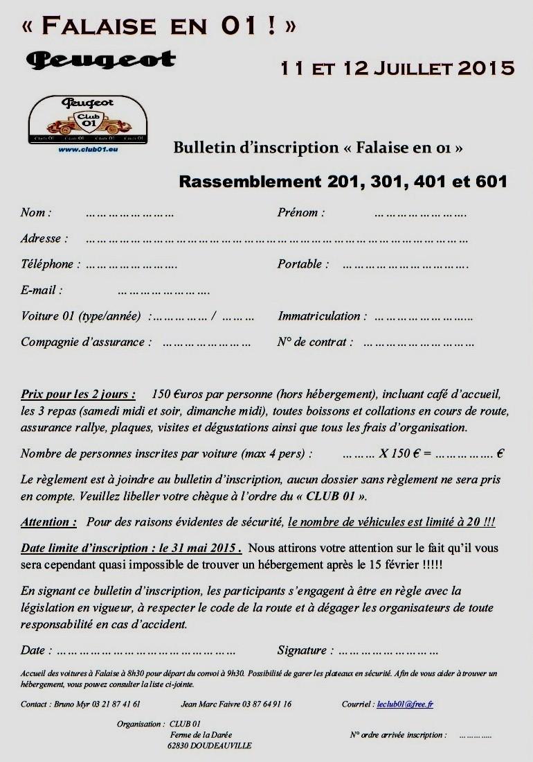 FALAISE 2015, les 01 attaqueront la Normandie - Page 3 Bullet11