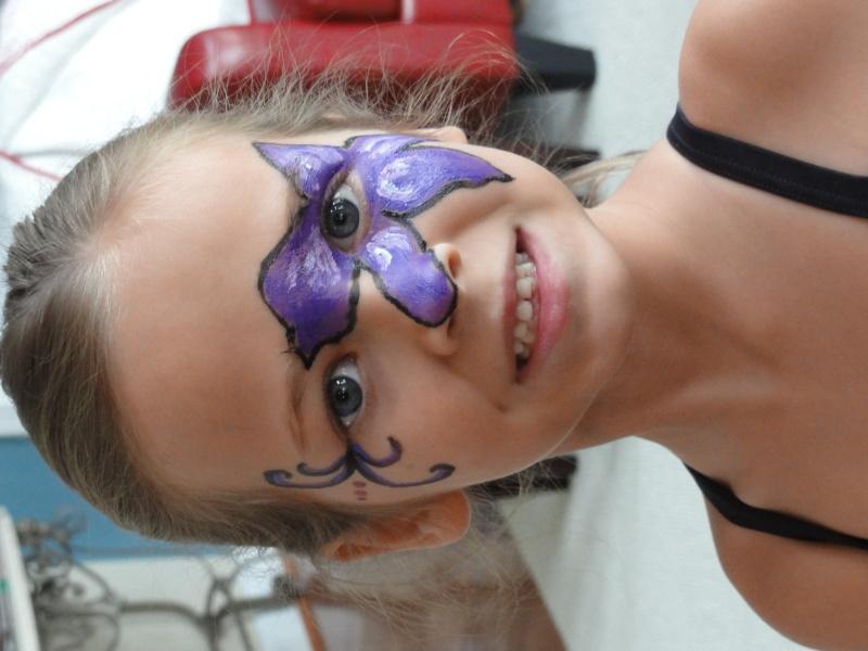 Face painting Dsc00713