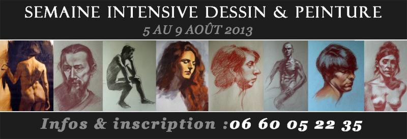 Semaine intensive dessin peinture aout 2013 Semain10