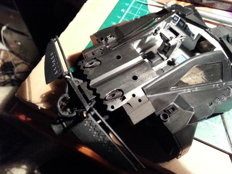 Der Tumbler aus der Batman Trilogie, 1:24 von Moebius 20141211