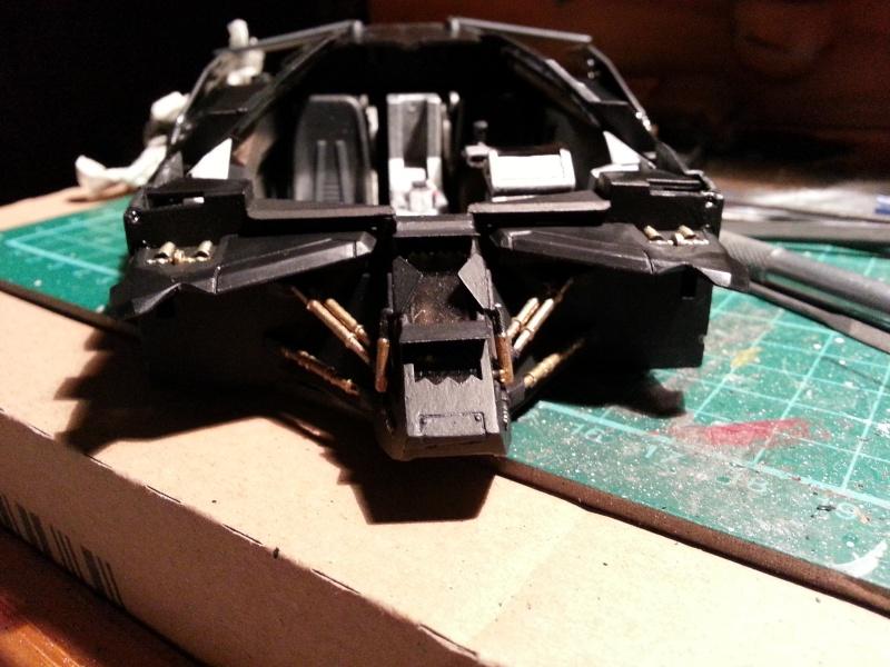 Der Tumbler aus der Batman Trilogie, 1:24 von Moebius 20141221