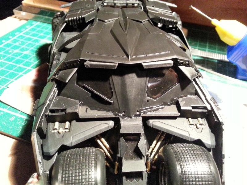 Der Tumbler aus der Batman Trilogie, 1:24 von Moebius 20150124
