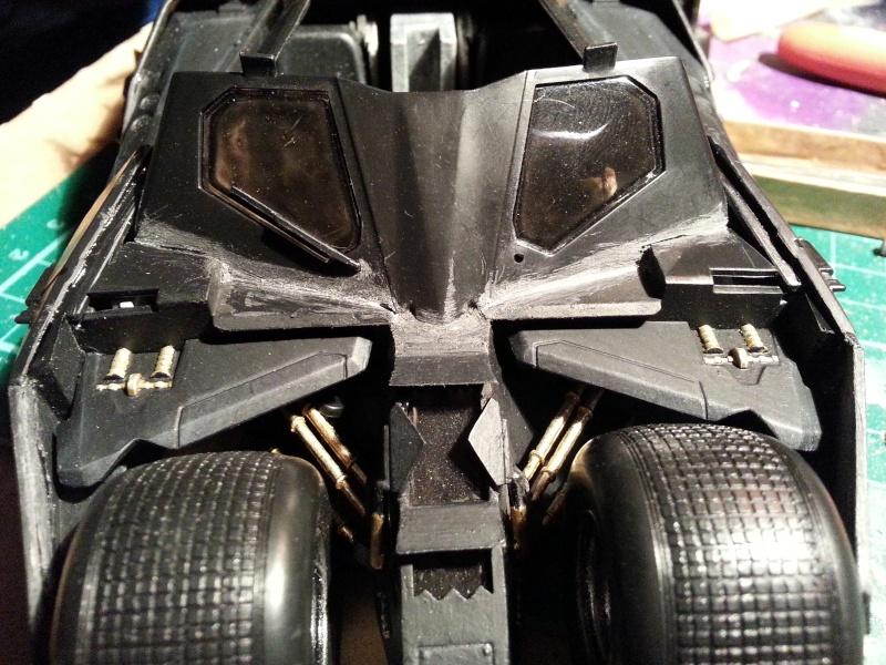 Der Tumbler aus der Batman Trilogie, 1:24 von Moebius 20150157