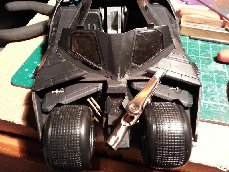 Der Tumbler aus der Batman Trilogie, 1:24 von Moebius 20150164
