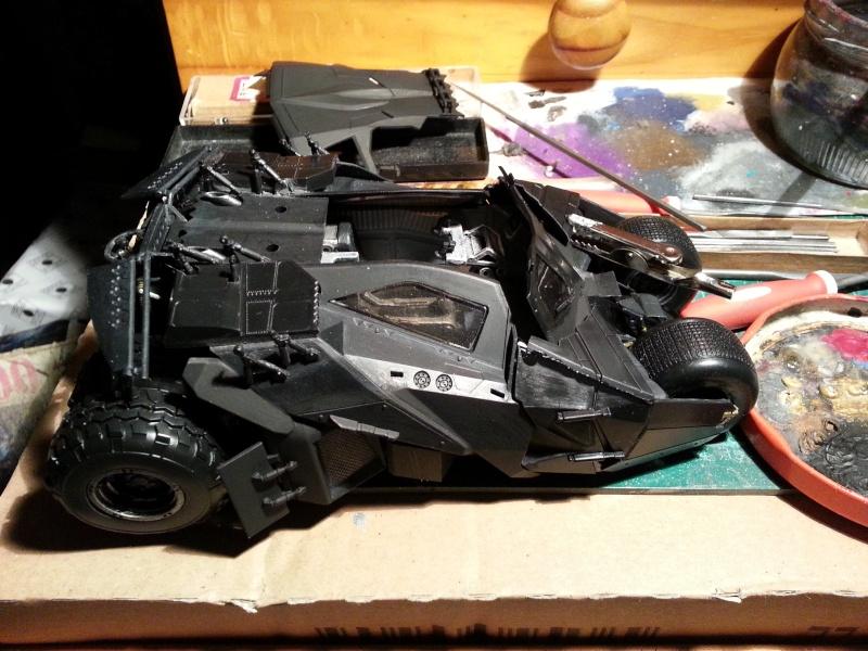 Der Tumbler aus der Batman Trilogie, 1:24 von Moebius 20150165