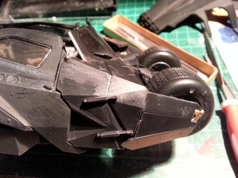 Der Tumbler aus der Batman Trilogie, 1:24 von Moebius 20150166