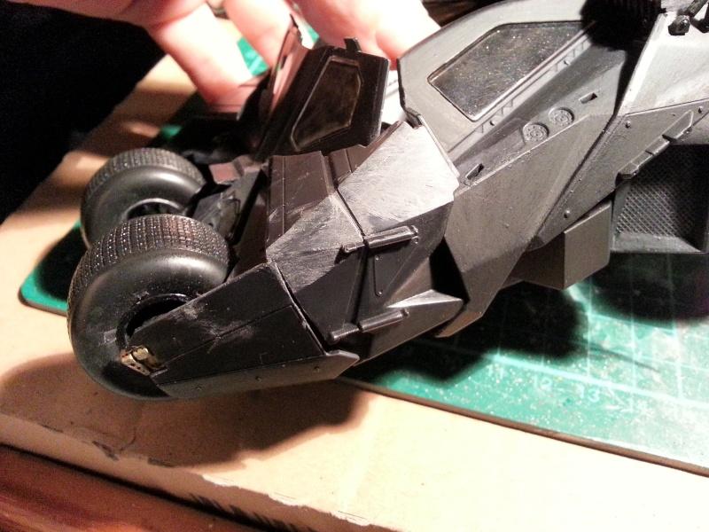 Der Tumbler aus der Batman Trilogie, 1:24 von Moebius 20150167