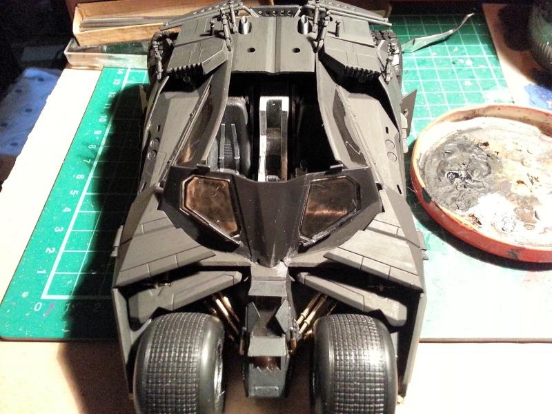 Der Tumbler aus der Batman Trilogie, 1:24 von Moebius 20150168