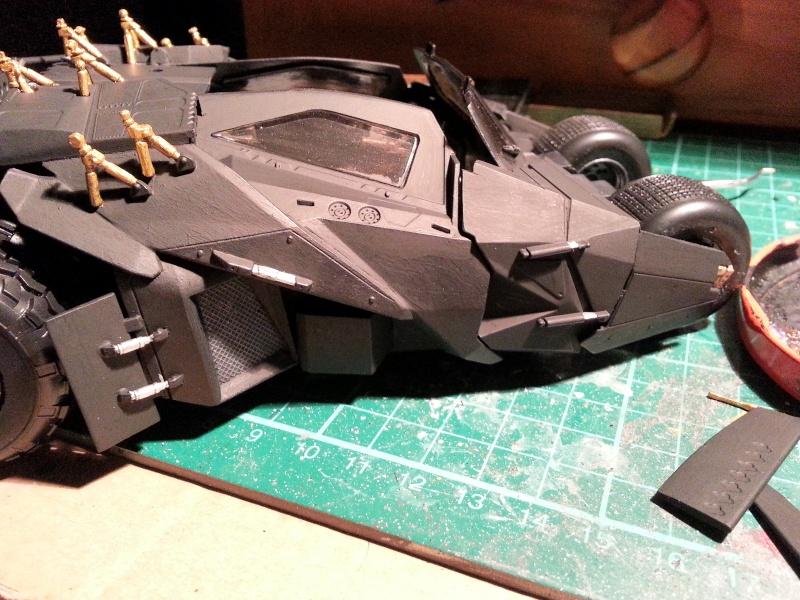 Der Tumbler aus der Batman Trilogie, 1:24 von Moebius 20150174