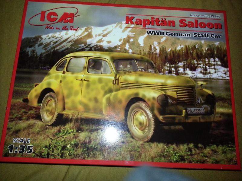 ´39 Opel Kapitän Saloon 1:35 von ICM 20150473