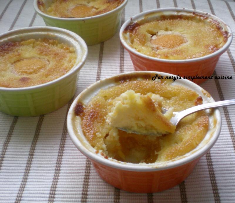 Dessert aux pêches et aux amandes Desser10