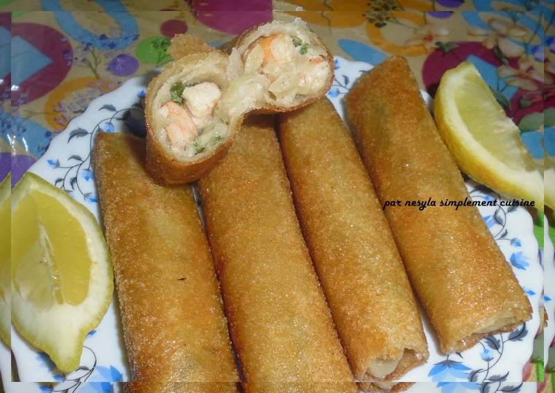 Bourek aux crevettes et au fromage Menu_514