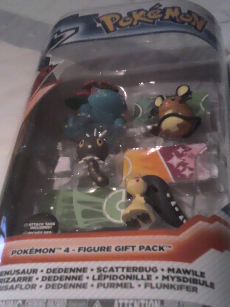 Pack gift figurine XY ( Avec florizarre ) 2015-012
