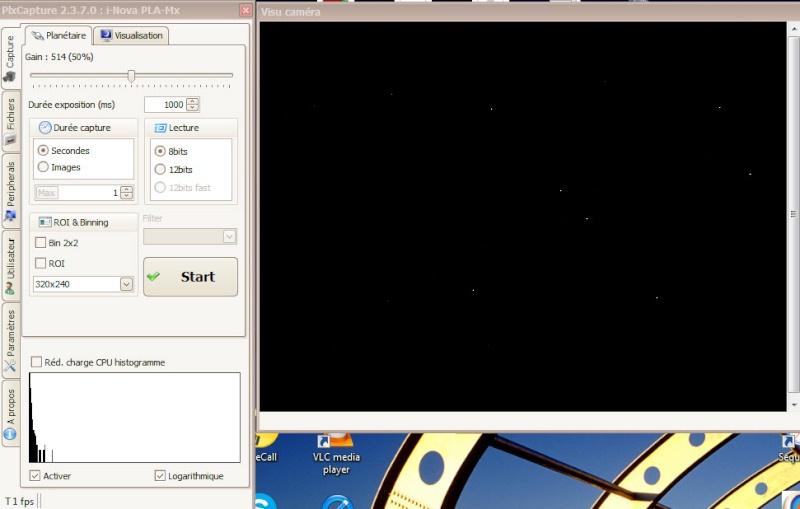 Caméra CCD PLa-Mx I-Nova. Pixels chauds Planyt11