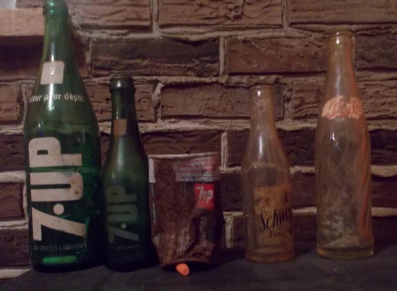 j - canette 7up & bouteilles Schweppes/qui peus me dire si je peus reclamé mon prix 7up Boutei10