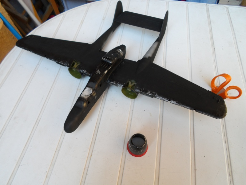 Northrop P 61B Black widow Hobby boss 1/32 Sam_0611