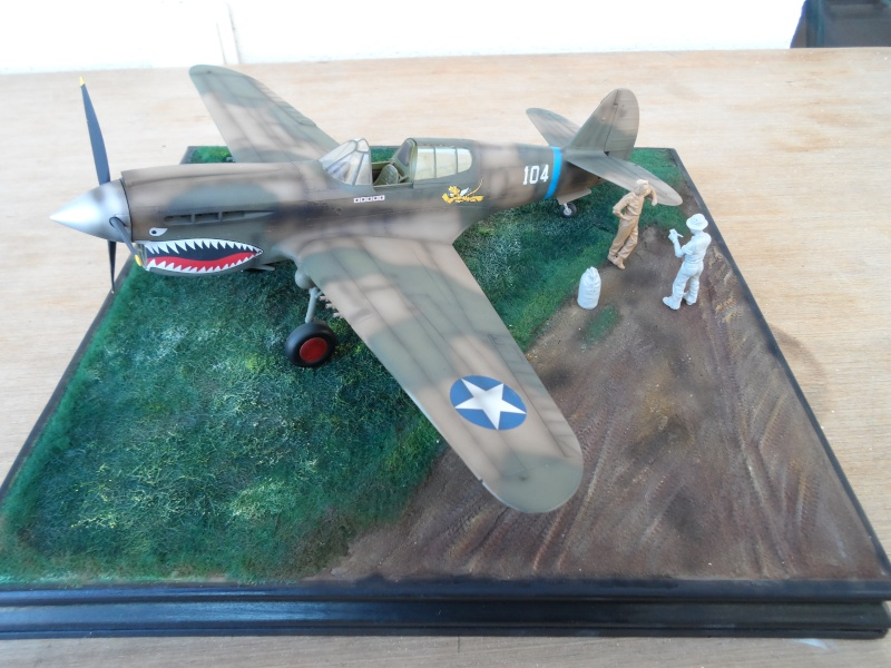P 40 E Flying Tigers - Chine 1942 - 1/32 Sam_2314