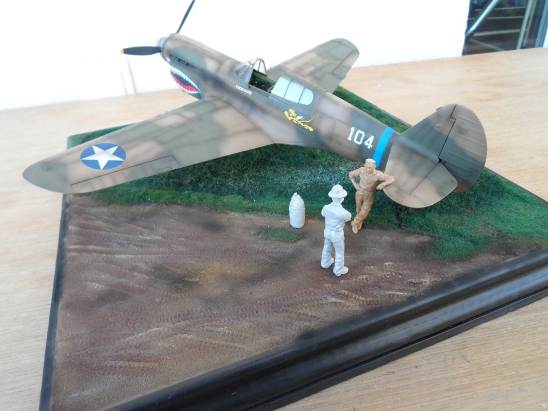 P 40 E Flying Tigers - Chine 1942 - 1/32 Sam_2315