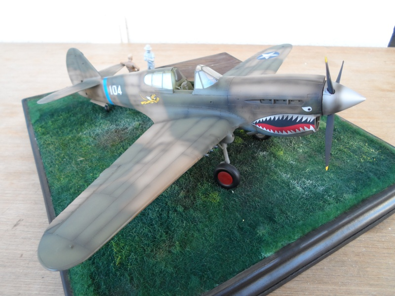 P 40 E Flying Tigers - Chine 1942 - 1/32 Sam_2317