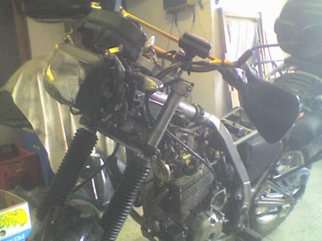Riparazione Honda NX dominator 650. 04-01-10