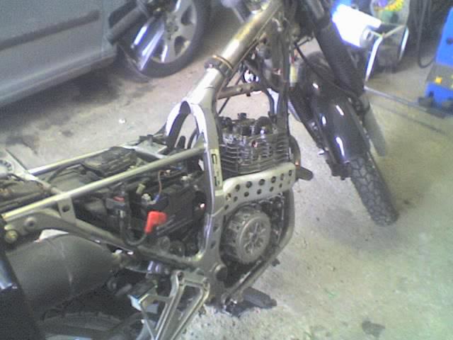 Riparazione Honda NX dominator 650. 04-01-11