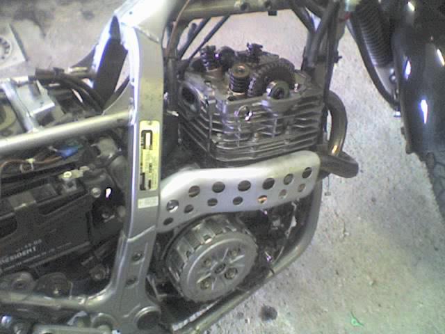 Riparazione Honda NX dominator 650. 04-01-12