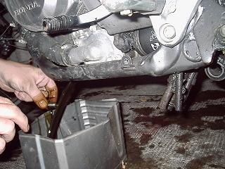 Sostituzione olio Honda Transalp. Soolio12