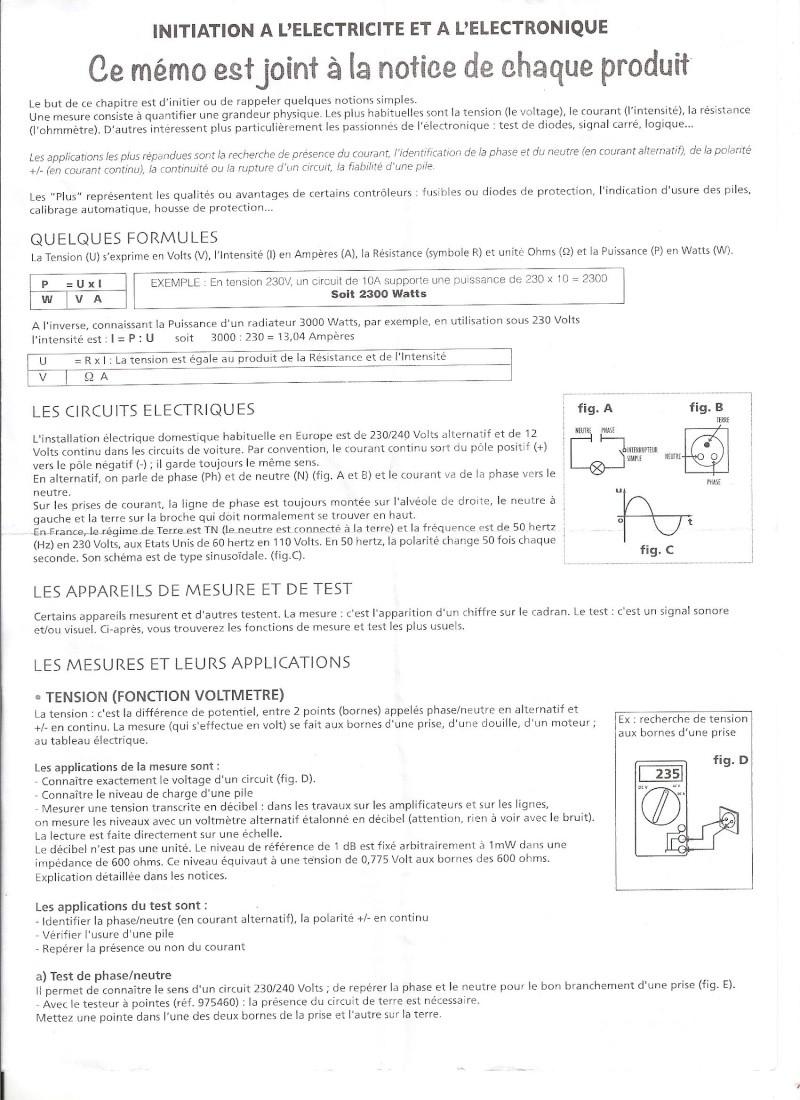 initiation à l'electricité Initia10