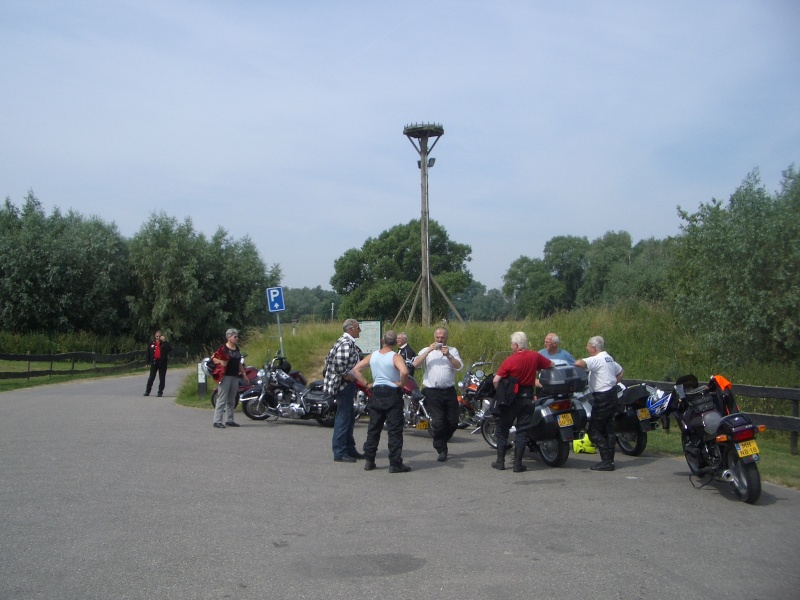 "Dutch ""Veteranen"" ride out, Loevestein Castle 2010-010"