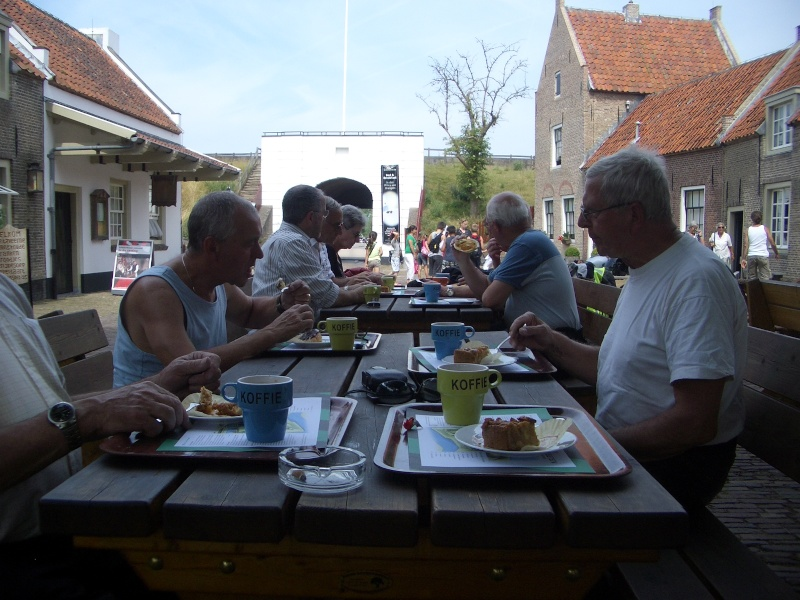 "Dutch ""Veteranen"" ride out, Loevestein Castle 2010-012"