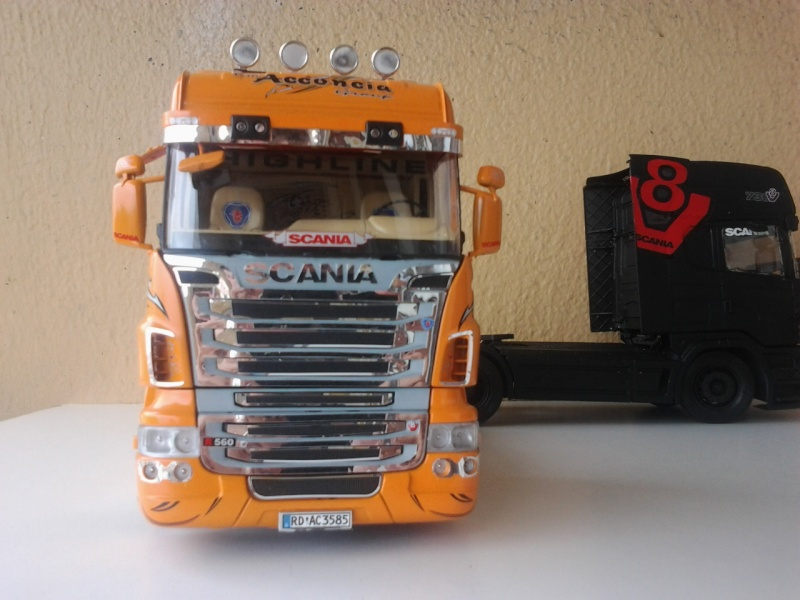 Italeri Scania the Griffin ehemals Red Griffin Foto0618