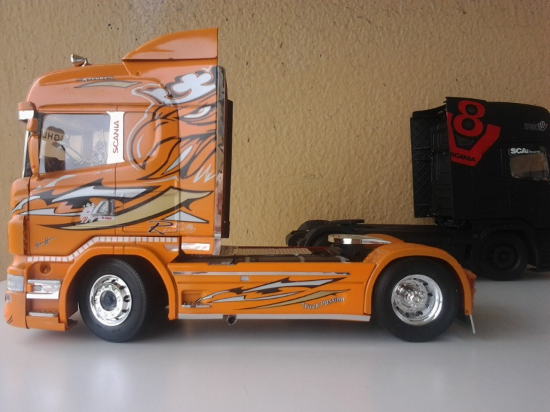Italeri Scania the Griffin ehemals Red Griffin Foto0619