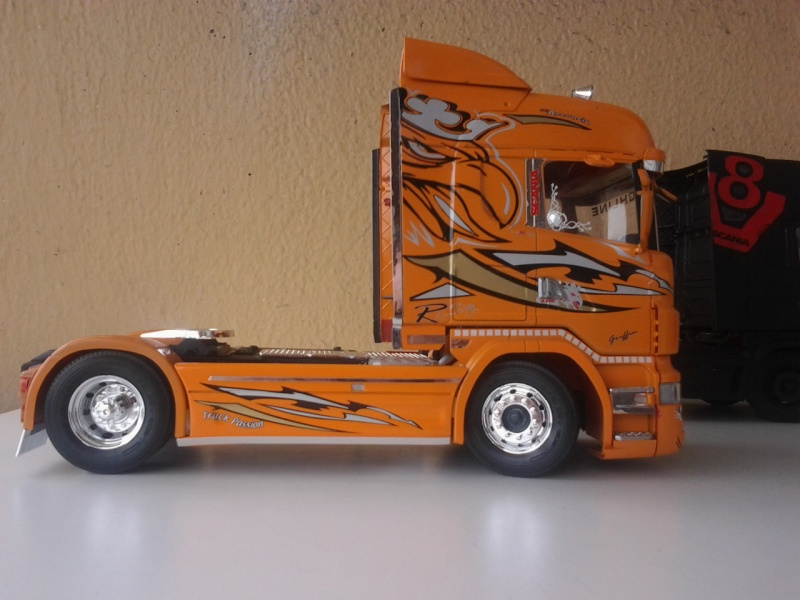 Italeri Scania the Griffin ehemals Red Griffin Foto0621