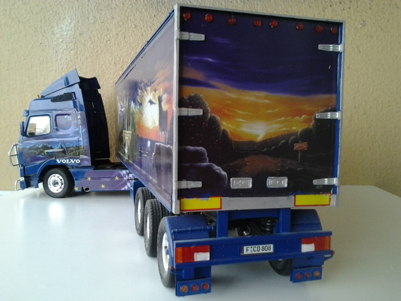 Revell Volvo Blue Rebel Foto0712