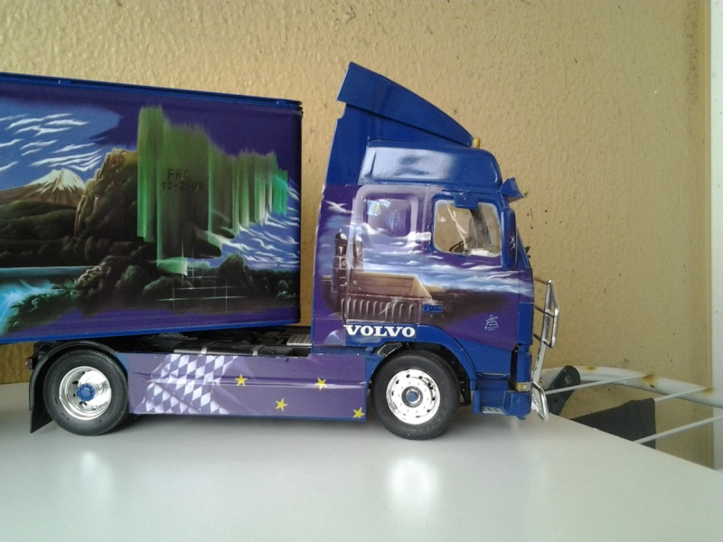 Revell Volvo Blue Rebel Foto0714
