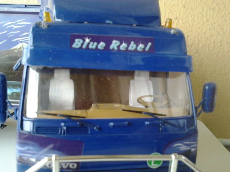 Revell Volvo Blue Rebel Foto0715