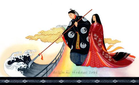 Mitos y Leyendas (Japonesas) : Genesis del Mundo y aparición de los dioses. Izanag10