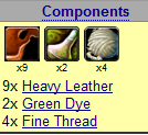 Green Leather Armor anyone? Compon10