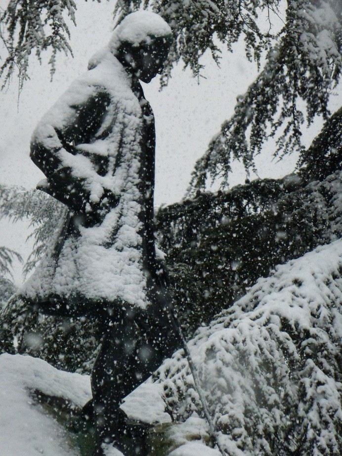 Le temps de ce week end... encore de la neige ! 01510