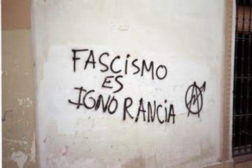 Fascismo es ignorancia! 12562610